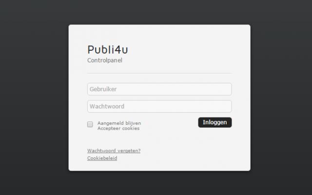 Websitebeheer via een gebruiksvriendelijk CMS systeem