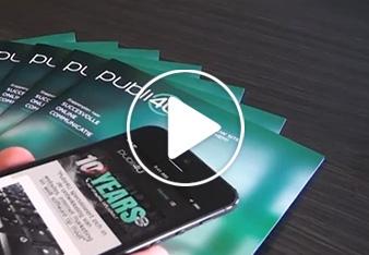 Publi4u magazine: responsive webdesign