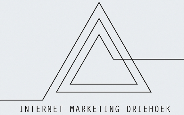 Wat is de internet marketing driehoek?