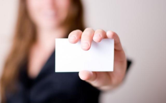 Het visitekaartje: uw professioneel paspoort
