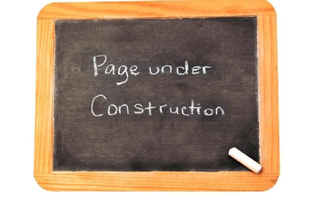 Webdesign: wachtpagina bij het opstarten van een nieuwe website