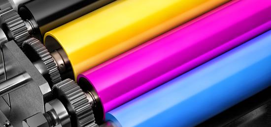 CMYK kleuren voor drukwerk