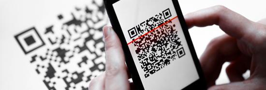 QR codes scannen
