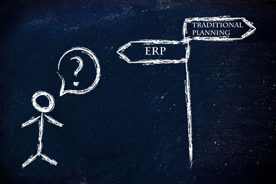 ERP of traditionele planning? De keuze is snel gemaakt