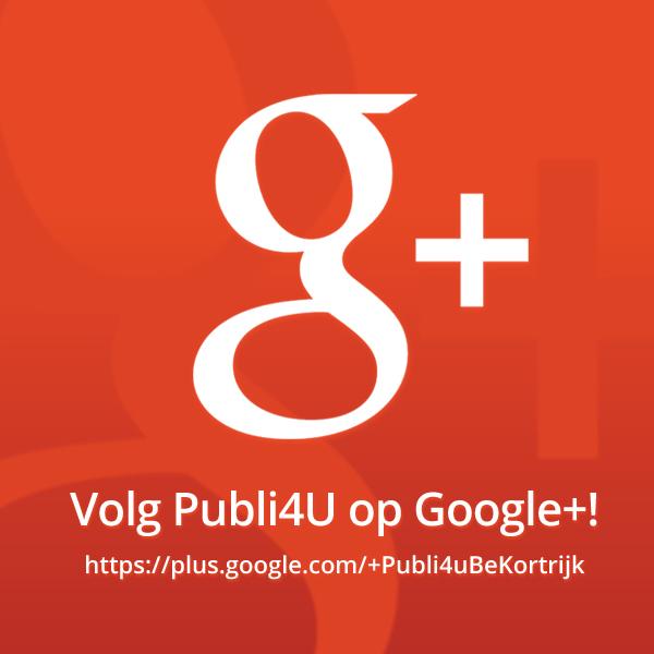 Volg ons op Google Plus