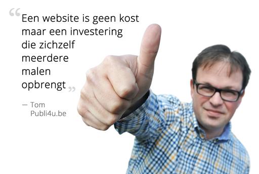 Tarieven website laten bouwen