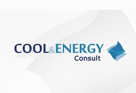 Krachtig logo voor Cool & Energy Consult