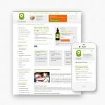 Mobiele webshop voor Bachbloesemadvies