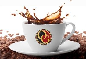 Beursstand Organo koffie