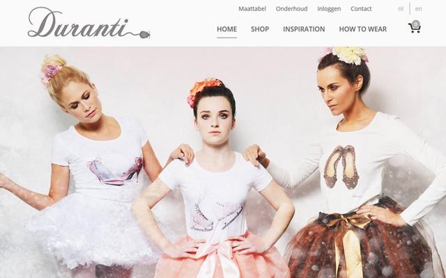 Webshop voor Duranti