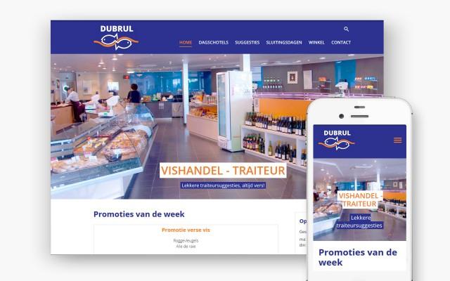 Vishandel - Traiteur Dubrul uit Rollegem