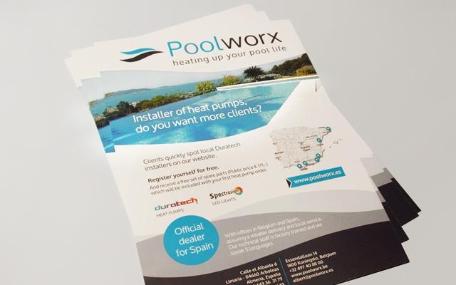 Flyer voor Poolworx