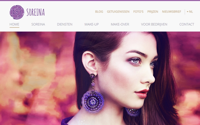 Mobiele website voor Soreina