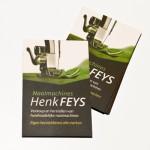 Visitekaartjes voor Naaimachines Henk Feys