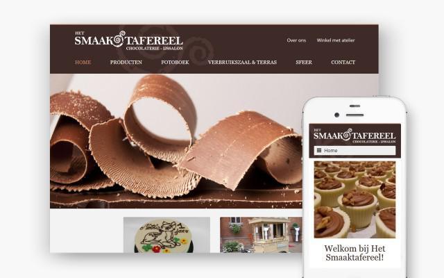 Smaakvolle website voor Het Smaaktafereel uit Zwevegem