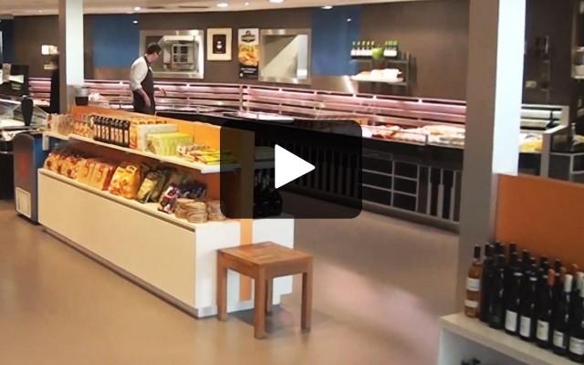 Bedrijfsfilmpje: bij ons kan je jouw fysiek winkelmandje gemakkelijk vullen