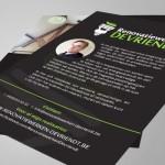 Logo, flyers en werf bache voor Renovatiewerken Devriendt