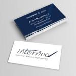 Opvallende visitekaartjes voor Internoo