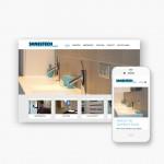 Pro pakket website voor Saneltech
