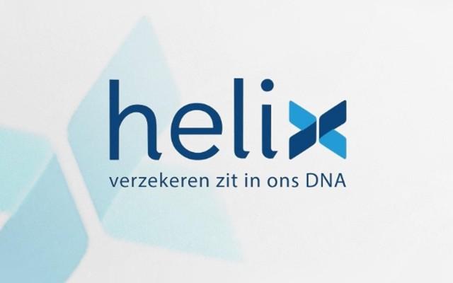 Logo animatie voor Helix verzekeringen