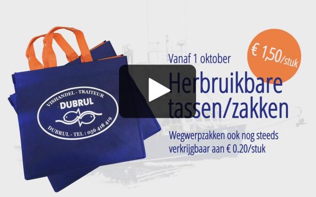 Video animatie herbruikbare tassen / zakken