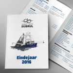 Eindejaarsfolder voor Dubrul uit Rollegem