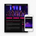Pro pakket website van 990 euro voor Studio Steps uit Bissegem