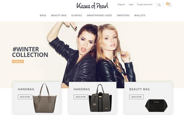Webwinkel voor Kisses of Pearl