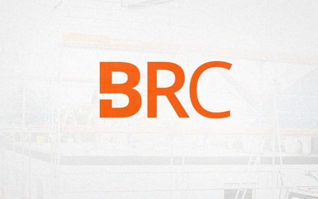 Logo voor BRC uit Marke