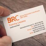 Visitekaartjes voor Brc uit Marke