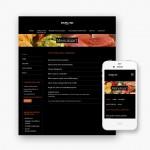 Pro pakket website voor Traiteur Mamma Mia uit Kortrijk