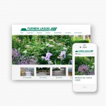 Pro pakket website voor Tuinen Lagae uit Heule