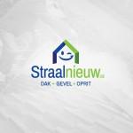 Gloednieuw logo ontwerp voor Straalnieuw uit Kortrijk