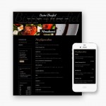 Pro pakket website voor Bistro Theofiel uit Zwevegem