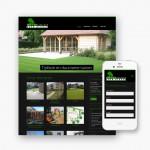 Pro pakket website voor Tuinarchitectuur Algoed uit Bellegem