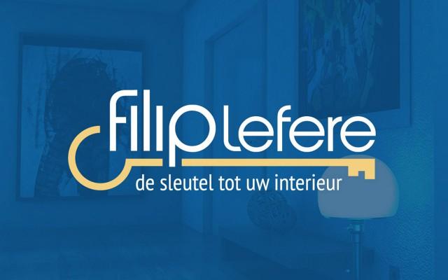 Logo ontwerp voor Interieur Filip Lefere uit Oostnieuwkerke