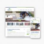 Pro pakket website voor Straalnieuw uit Kortrijk