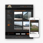Pro pakket website voor Metaal Vanhaesebrouck uit Anzegem