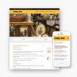 Pro pakket website voor Hobby 13 uit Deinze