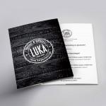 Eindejaarsfolder 2017 voor Bakkerij Luka uit Marke