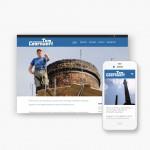 Pro pakket website voor schoorsteenbouw Tom Coornaert uit Deerlijk