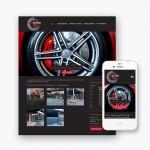 Pro pakket website voor Banden M & W uit Gent