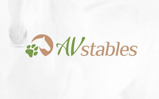 Logo ontwerp voor Av Stables uit Izegem