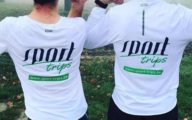 Bedrukte t-shirts en long sleeves voor Sport Trips uit Kortrijk