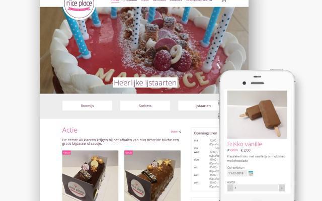 Pro pakket webshop voor Nice Place uit Petegem aan de Schelde