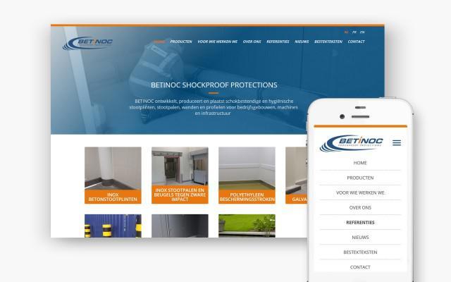Website op maat voor Betinoc uit Nederland