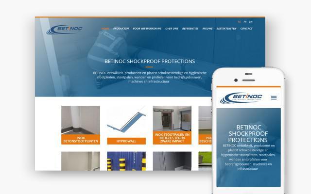 Website op maat voor Betinoc uit België