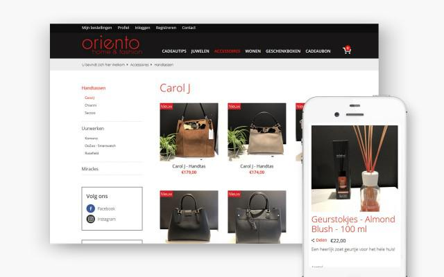 Plus pakket webwinkel voor Oriento uit Zwevegem